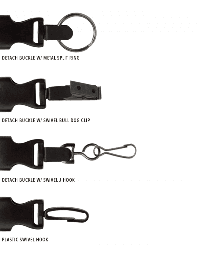 LANYARD END ATTACHMENTS
