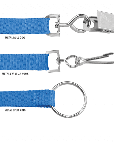 STANDARD LANYARD END ATTACHMENTS