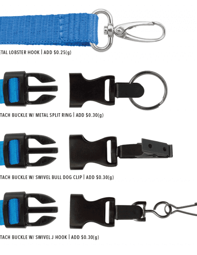 ADDITIONAL LANYARD END ATTACHMENTS
