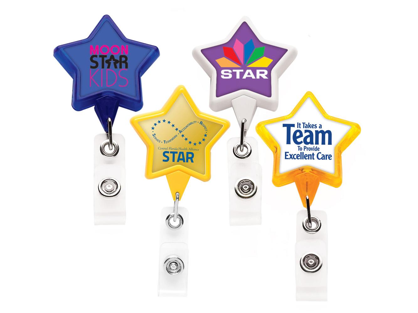 BH5STR:  Star Badge Reel