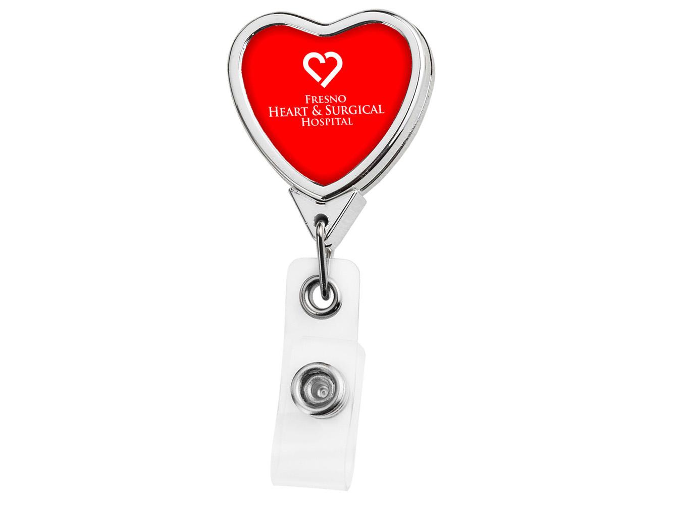 BH805: Chrome Heart Badge Reel - Devara
