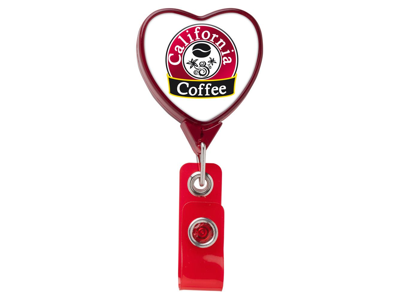 BH85: JUMBO Heart Badge Reel