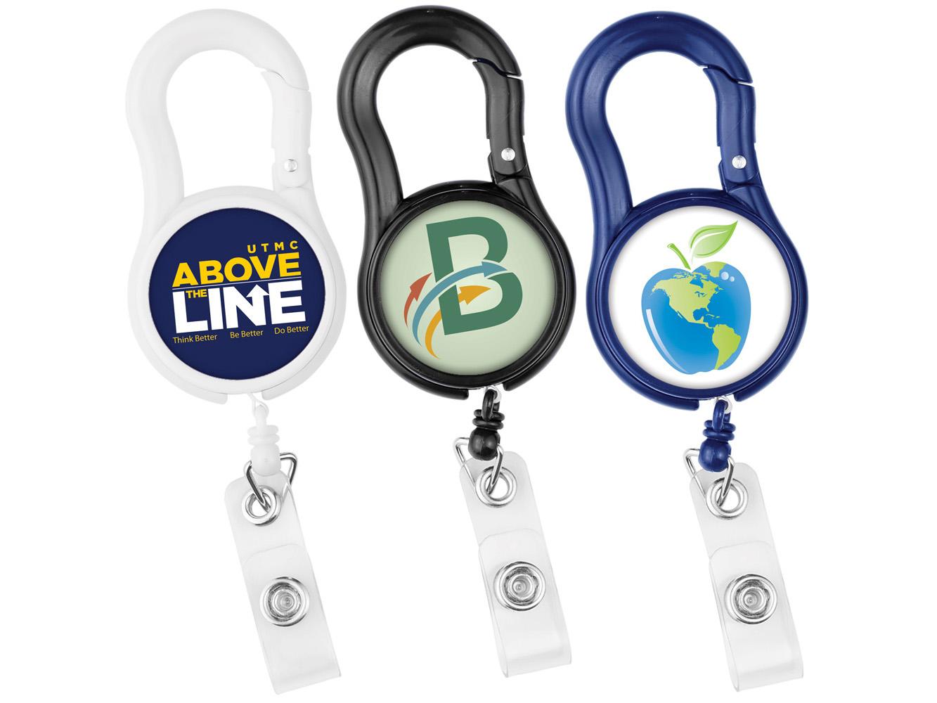BH95:  Carabiner Tape Badge Reel