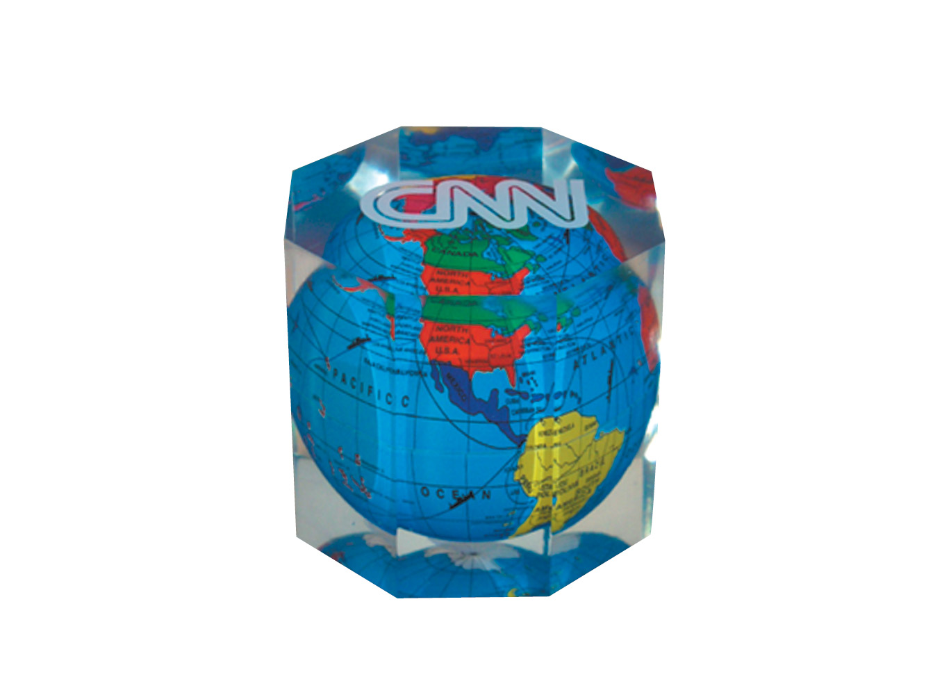 GCW7: Octagon Global Paperweight