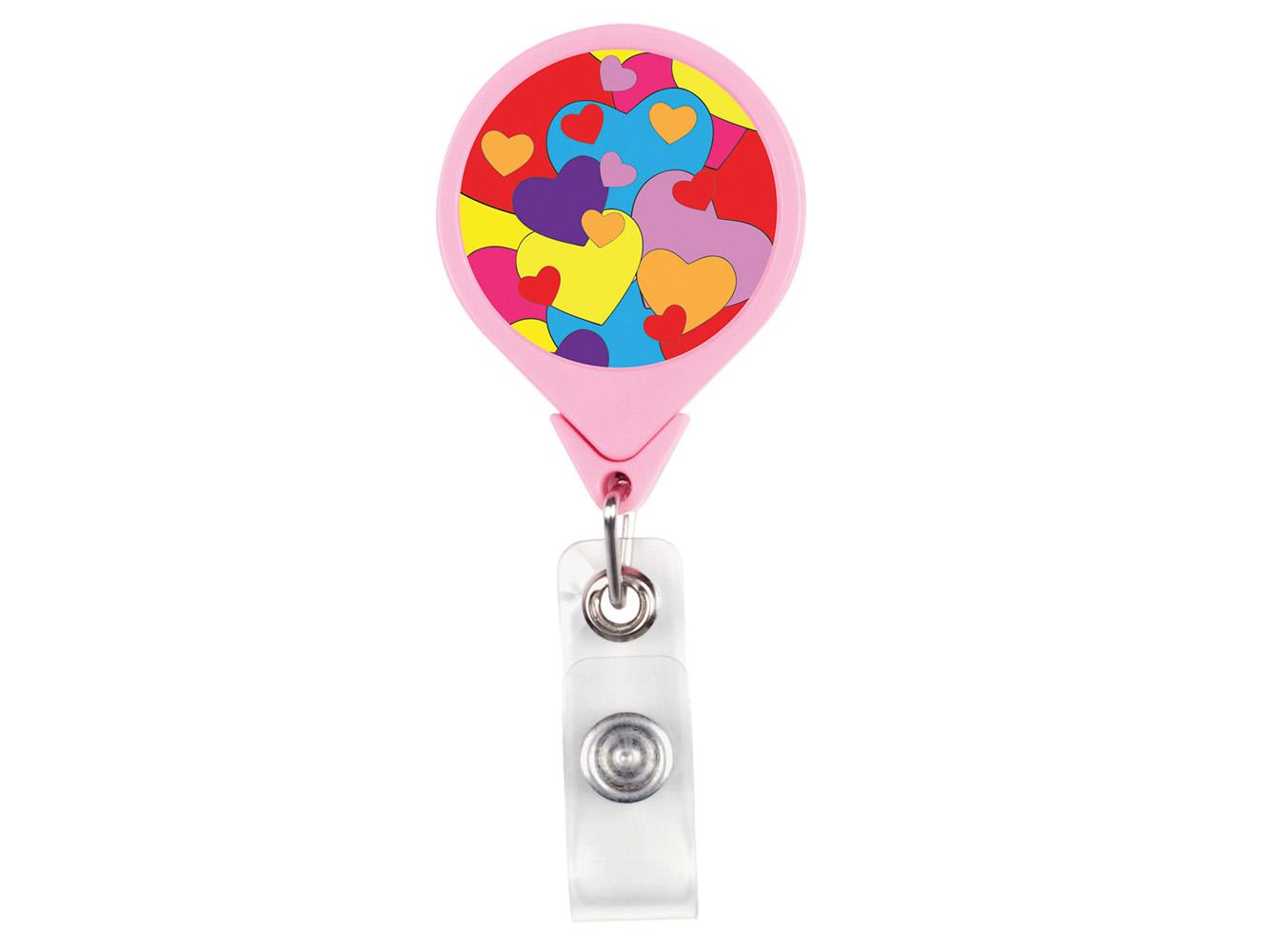 RF006: Hearts JUMBO Theme Badge Reel