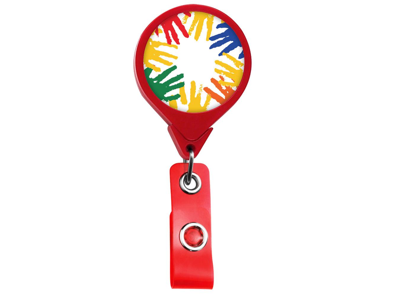 RF008: Helping Hands JUMBO Theme Badge Reel