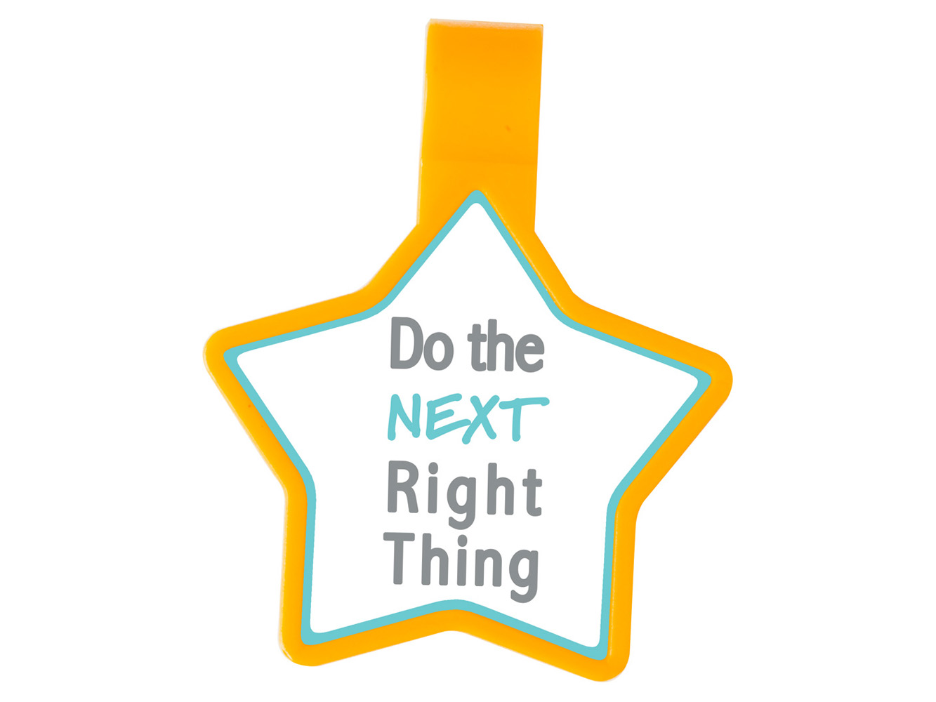 Anti-Microbial Star Stethoscope ID Tag
