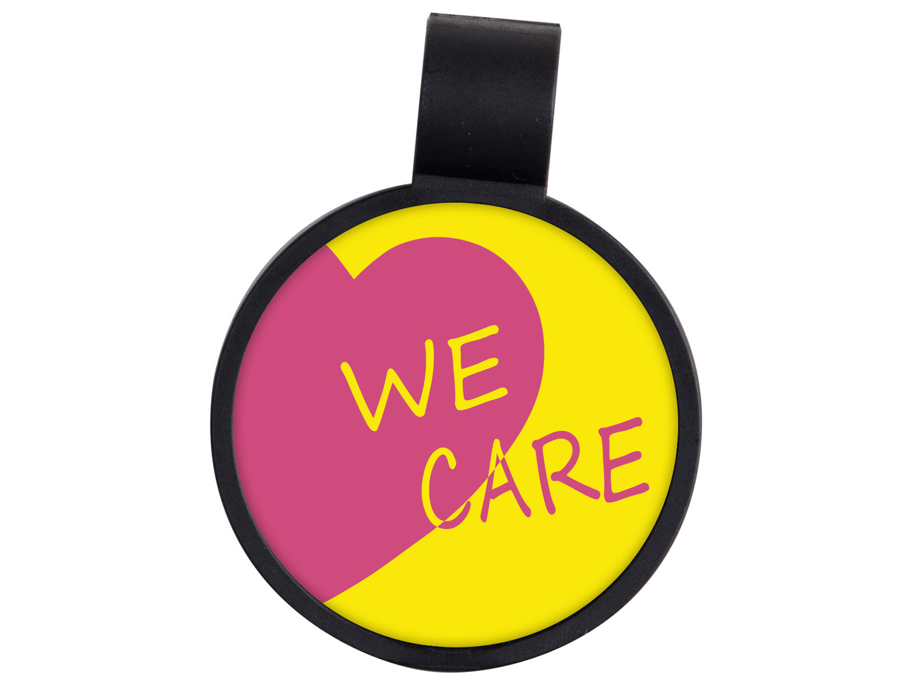 STF14: We Care Anti-Microbial Stethoscope ID Tag