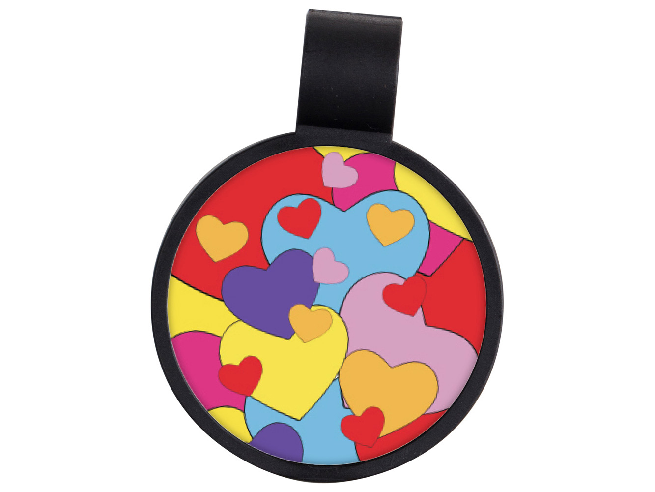 STF6: Hearts Anti-Microbial Stethoscope ID Tag