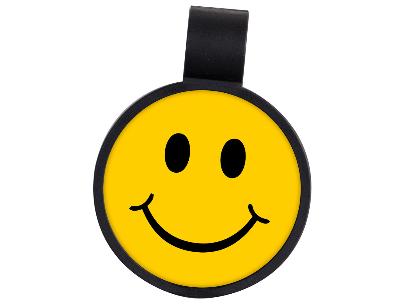 STF7: Smiley Face Anti-Microbial Stethoscope ID Tag