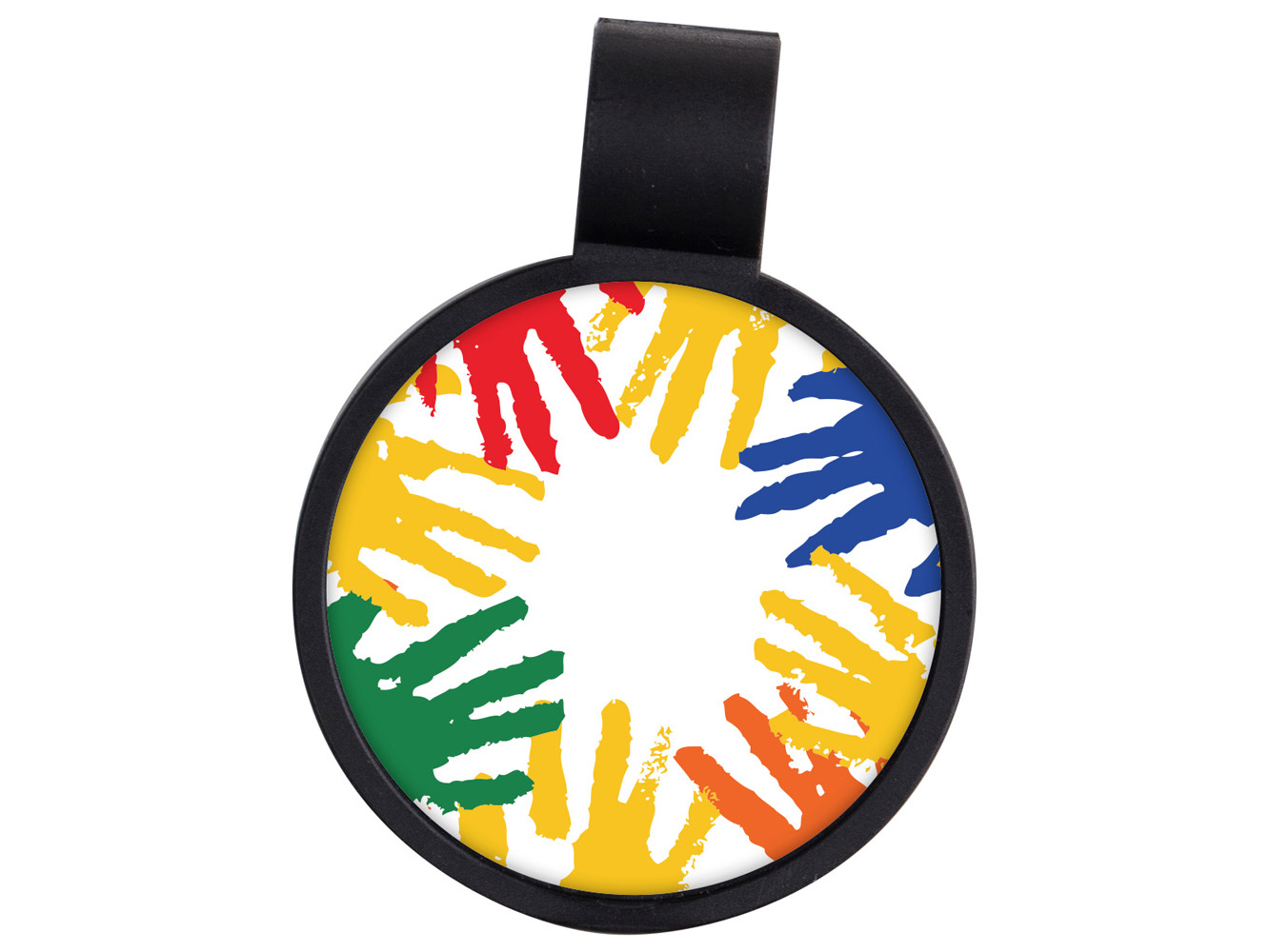 STF8: Helping Hands Anti-Microbial Stethoscope ID Tag