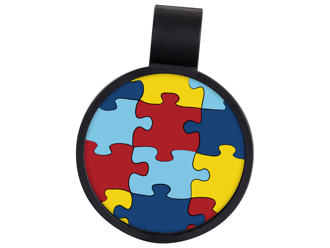 STF9: Autism Awareness Anti-Microbial Stethoscope ID Tag