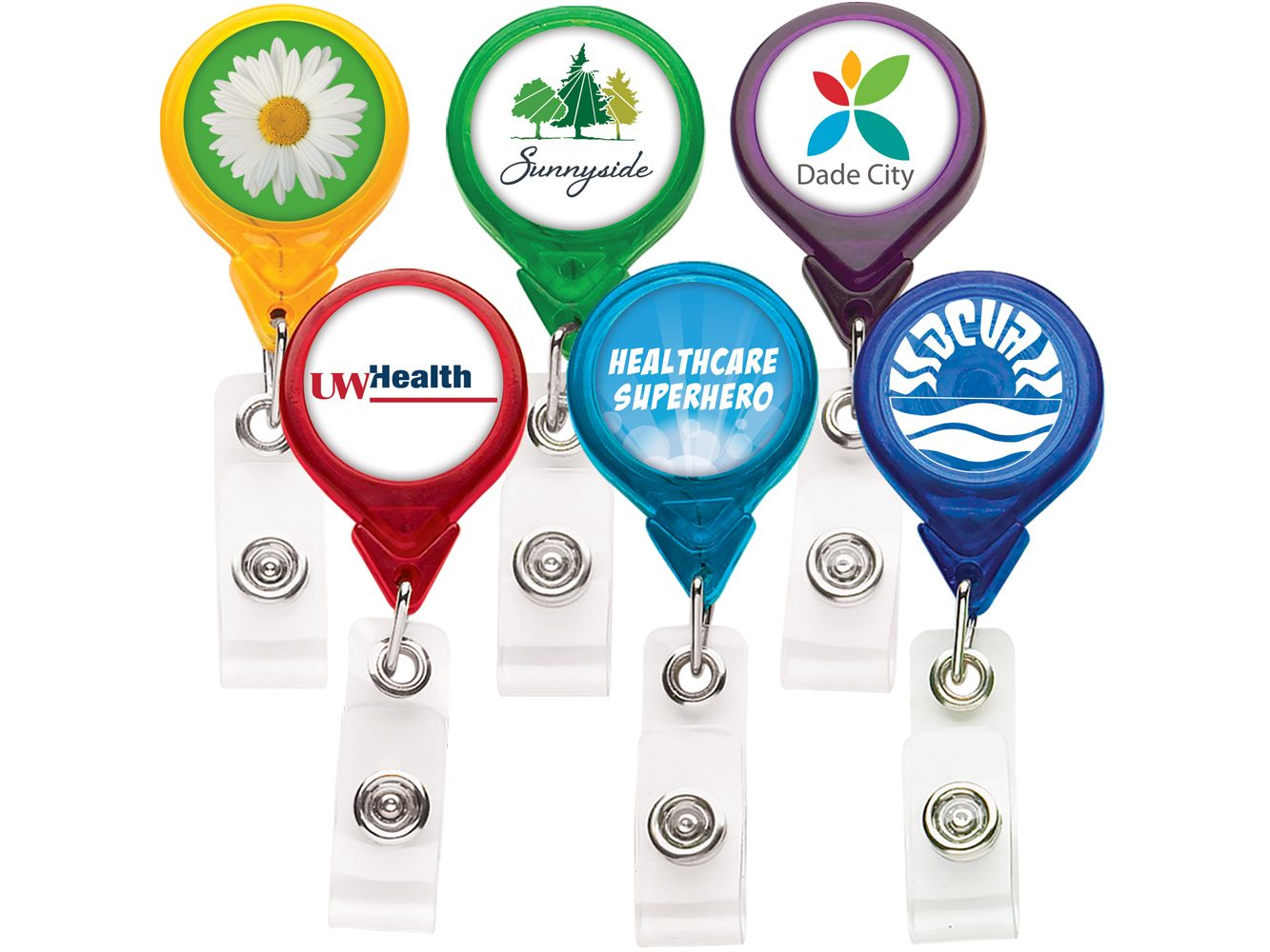 TBH3 Translucent Round Badge Reel - Best