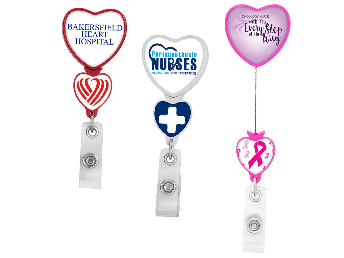 BHD85: Double Up Heart Badge Reel