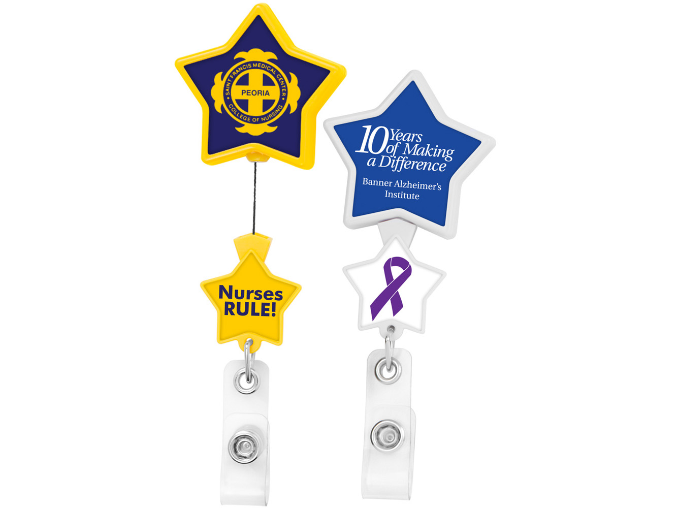 BHD86:  Double Up Star Badge Reel
