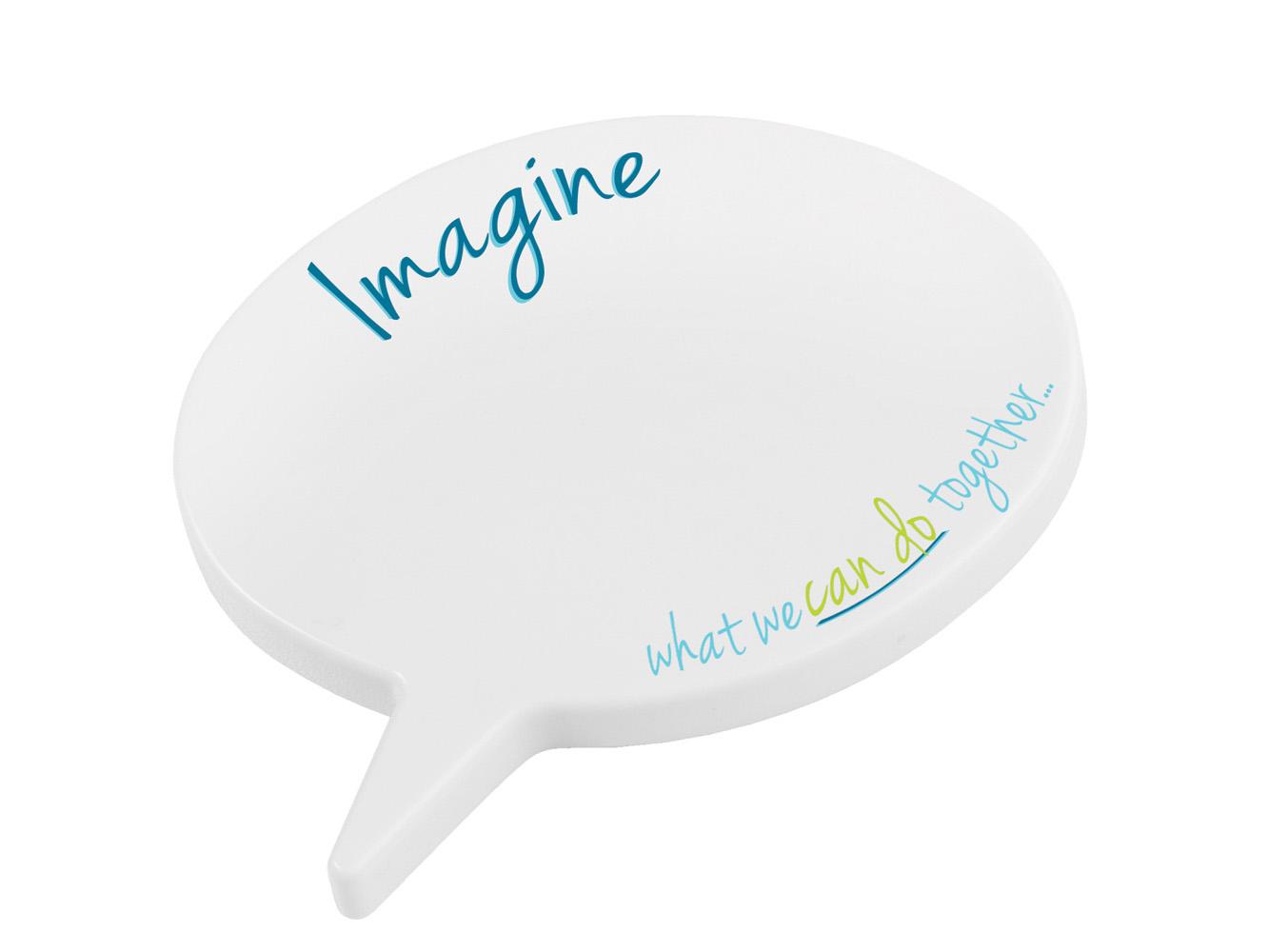 SB11: Magnetic Oval Speech Bubble