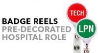 JUMBO Position Retractable Badge Reels