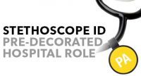 Anti Microbial Position Stethoscope ID Tags