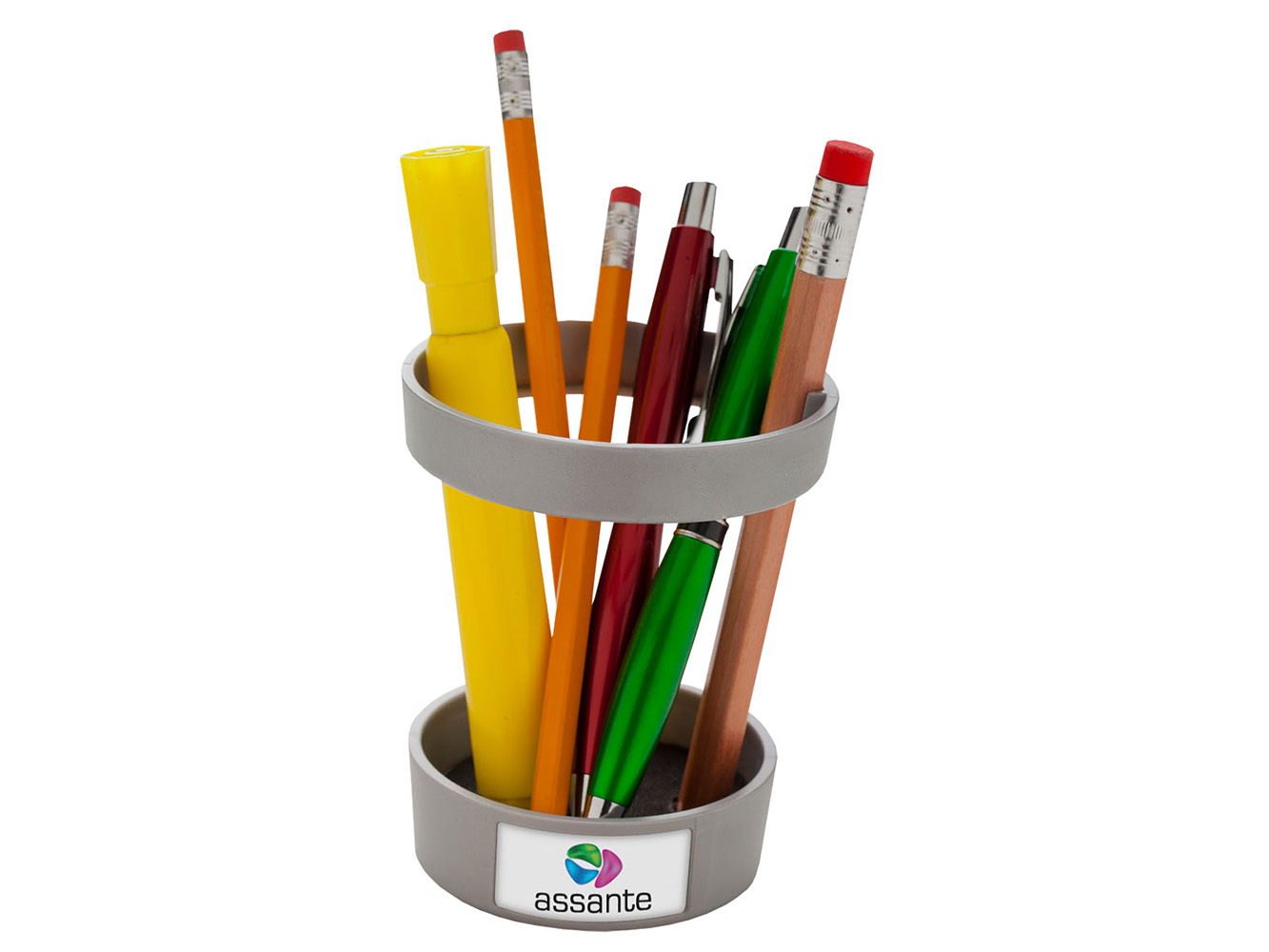 P44:  Two Ring Pencil Holder