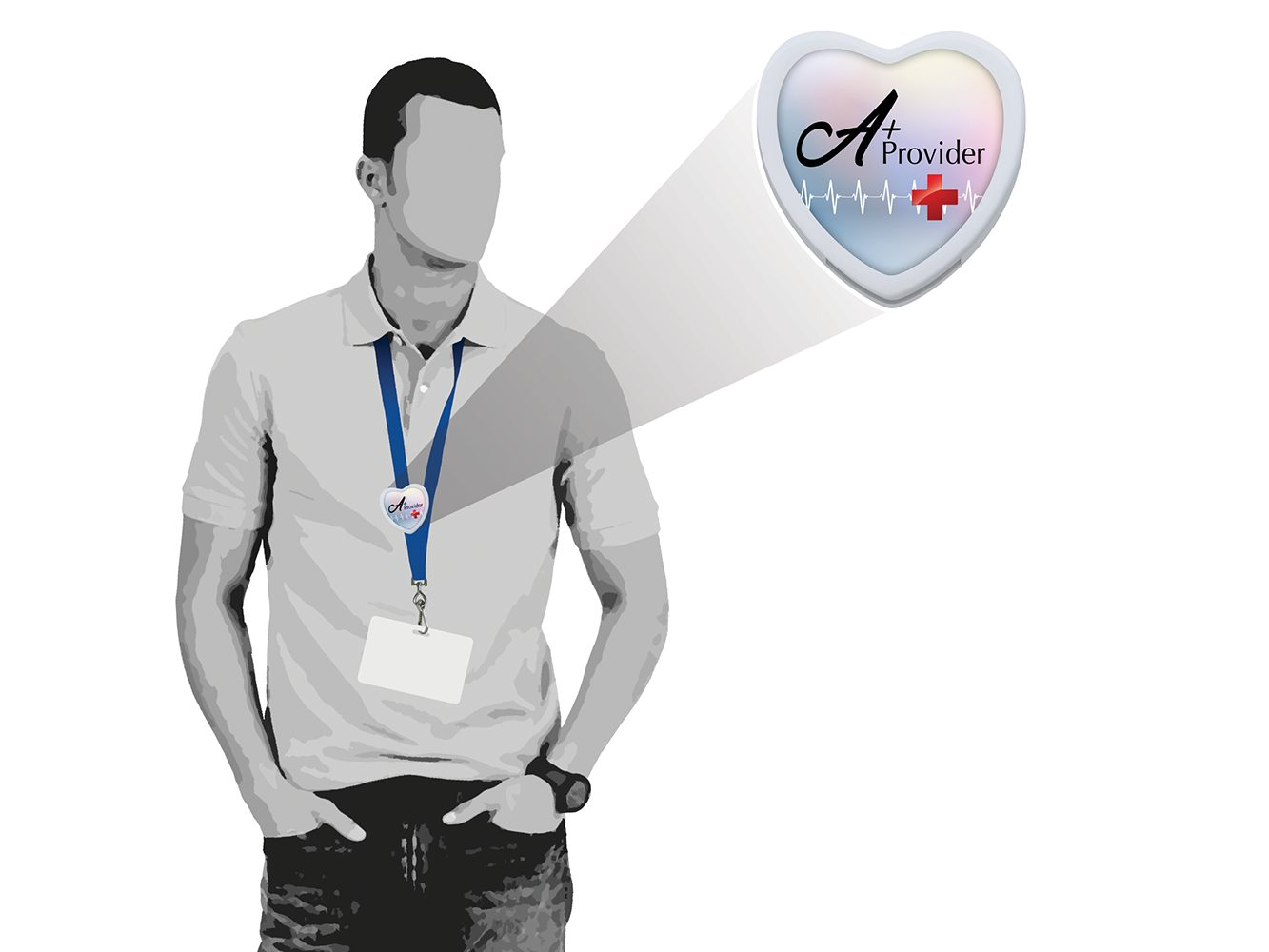 BHLB2: Heart Lanyard Bolo