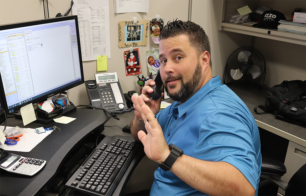 Meet our inside sales rep John