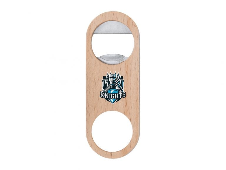 BTL6: Mini Wood Paddle Bottle Opener