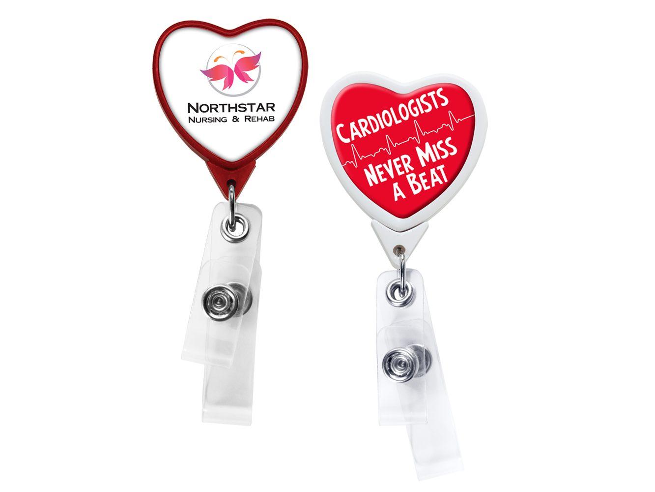 BHQ85:  Anti-Microbial Heart 2 Strap Reel